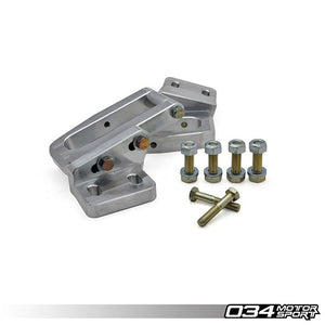 BILLET ALUMINUM REAR SUBFRAME REINFORCEMENT KIT, QUATTRO