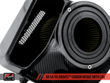 AWE AirGate™ Carbon Fiber Intake For Audi B9 S4 / S5 / RS5 3.0T - With Lid