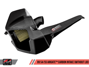 AWE AirGate™ Carbon Fiber Intake for Audi B9 S4 / S5 / RS5 3.0T - Without Lid