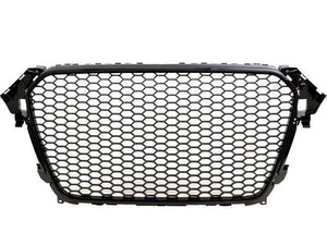 A4 B8.5 RS4 Grille - Black - Fits Face Lift 2012.5-Up Models