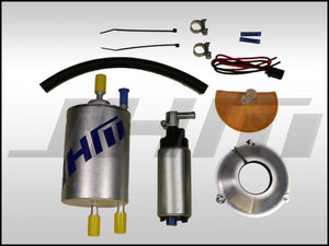 JHM Fuel Pump Upgrade Kit, High-Flow 340 LPH w High Volume Fuel Filter for B6 A4-S4 and EARLY B7 S4