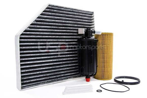 Filter Trio Kit (Oil, Fuel, A/C Cabin Filter): Audi B8 S4/S5