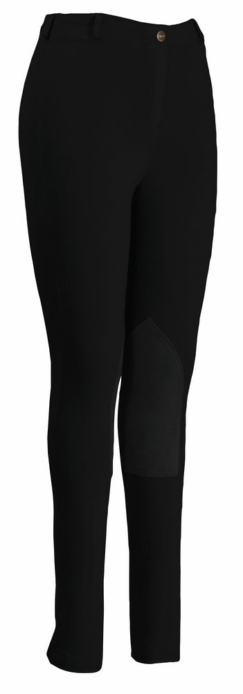TuffRider Ladies Pull-On Knee Patch Breeches_611