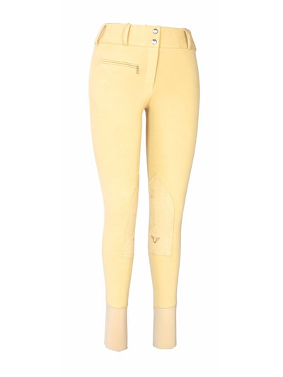 TuffRider Ladies Cotton Lowrise Wide Waistband Breeches (Long)_4709