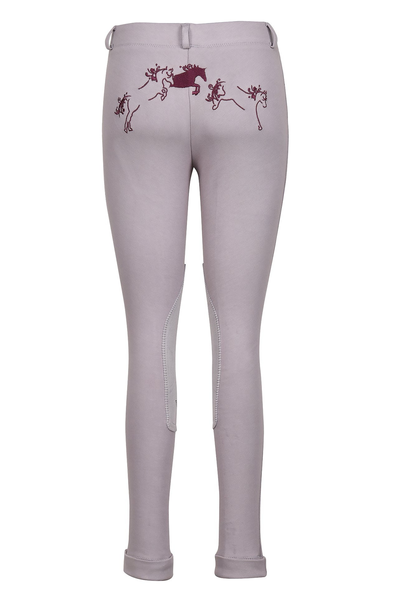 TuffRider Children's Whimsical Horse Embroidered Pull-On Jodhpurs_1030