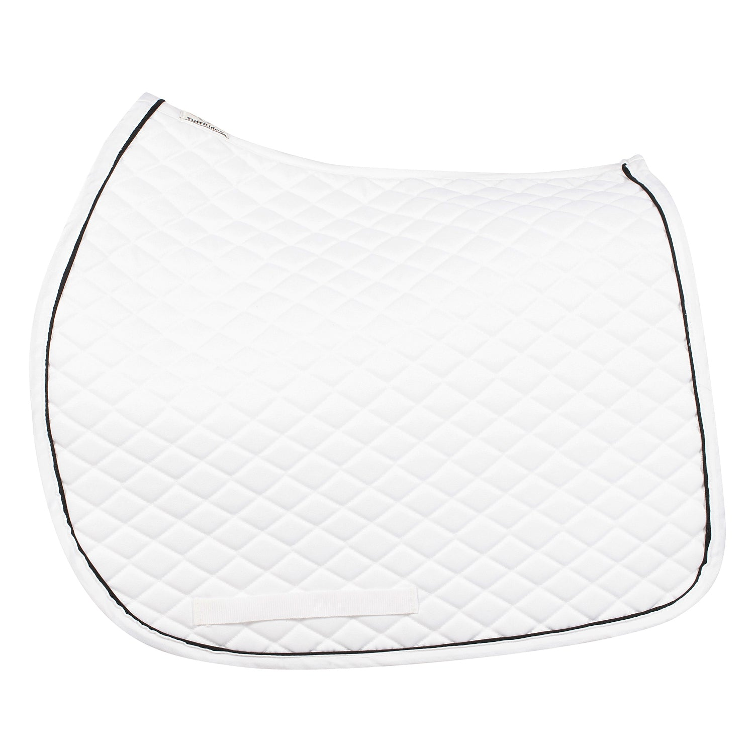 TuffRider Basic All Purpose Saddle Pad with Trim and Piping_1