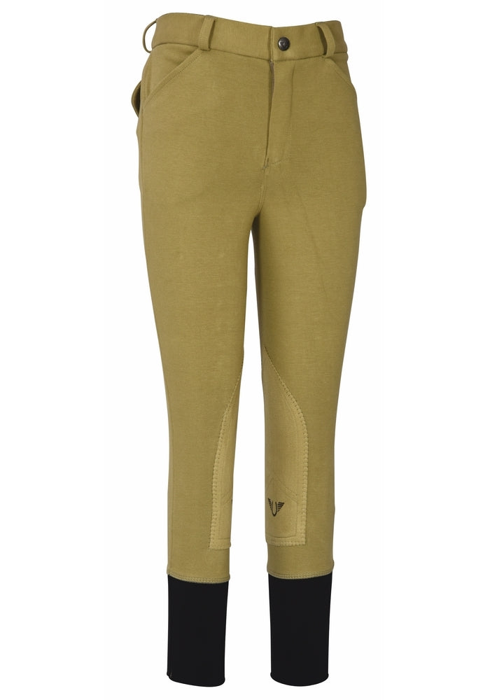 TuffRider Boys Patrol Light Knee Patch Breeches_791