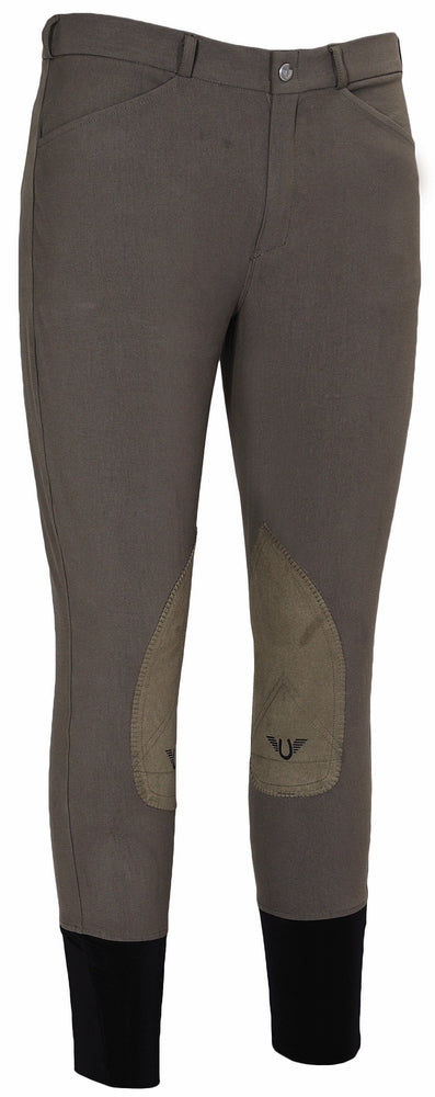 TuffRider Men's A-Circuit Knee Patch Breeches_4757