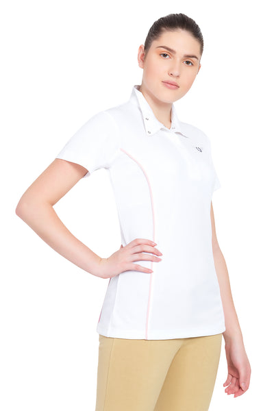 TuffRider Ladies Kirby Kwik Dry Short Sleeve Show Shirt_477