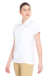 TuffRider Ladies Kirby Kwik Dry Short Sleeve Show Shirt_475