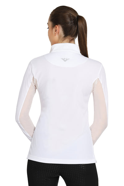 TuffRider Ladies Ventilated Technical Long Sleeve Sport Shirt_3612