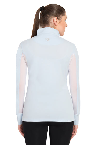 TuffRider Ladies Ventilated Technical Long Sleeve Sport Shirt_3624