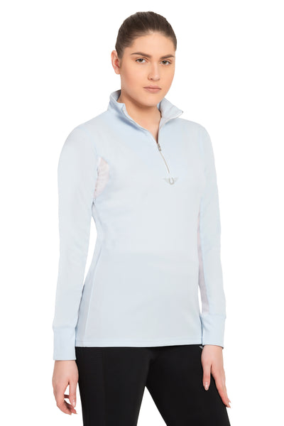 TuffRider Ladies Ventilated Technical Long Sleeve Sport Shirt_3623
