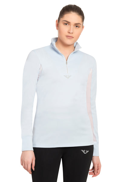 TuffRider Ladies Ventilated Technical Long Sleeve Sport Shirt_3621
