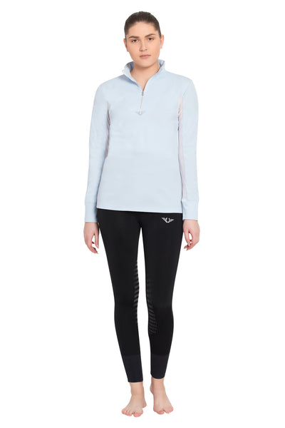 TuffRider Ladies Ventilated Technical Long Sleeve Sport Shirt_3625