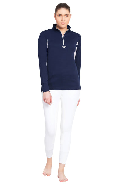 TuffRider Ladies Ventilated Technical Long Sleeve Sport Shirt_23