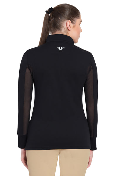 TuffRider Ladies Ventilated Technical Long Sleeve Sport Shirt_3636