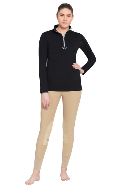 TuffRider Ladies Ventilated Technical Long Sleeve Sport Shirt_3638