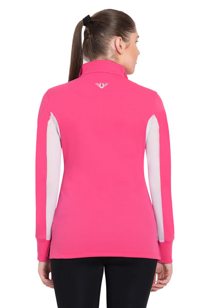 TuffRider Ladies Ventilated Technical Long Sleeve Sport Shirt_3642