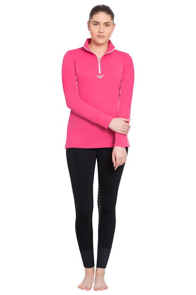 TuffRider Ladies Ventilated Technical Long Sleeve Sport Shirt_3644