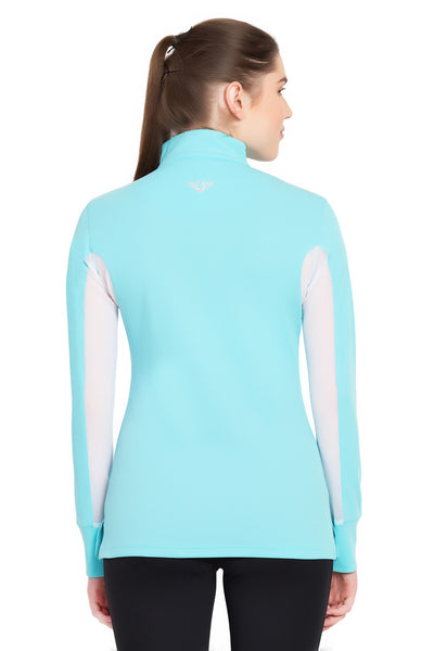 TuffRider Ladies Ventilated Technical Long Sleeve Sport Shirt_3648