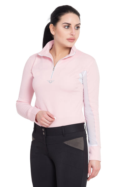 TuffRider Ladies Ventilated Technical Long Sleeve Sport Shirt_3652