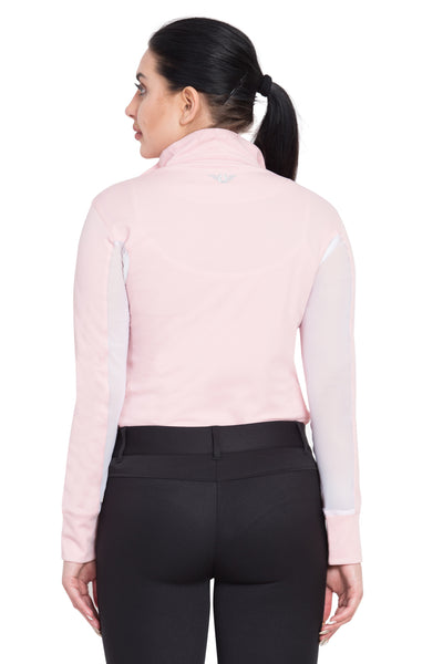 TuffRider Ladies Ventilated Technical Long Sleeve Sport Shirt_3653