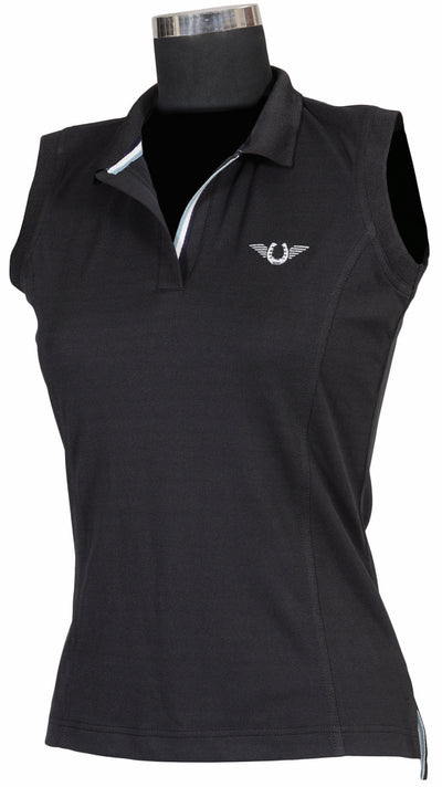 TuffRider Ladies Tech Sleeveless Polo_578