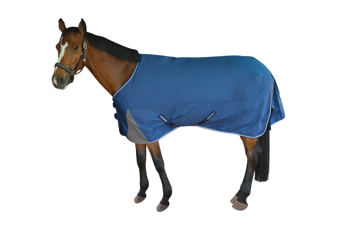 TuffRider Optimum 1680D Triple Weave Turnout Sheet with Standard Neck_1