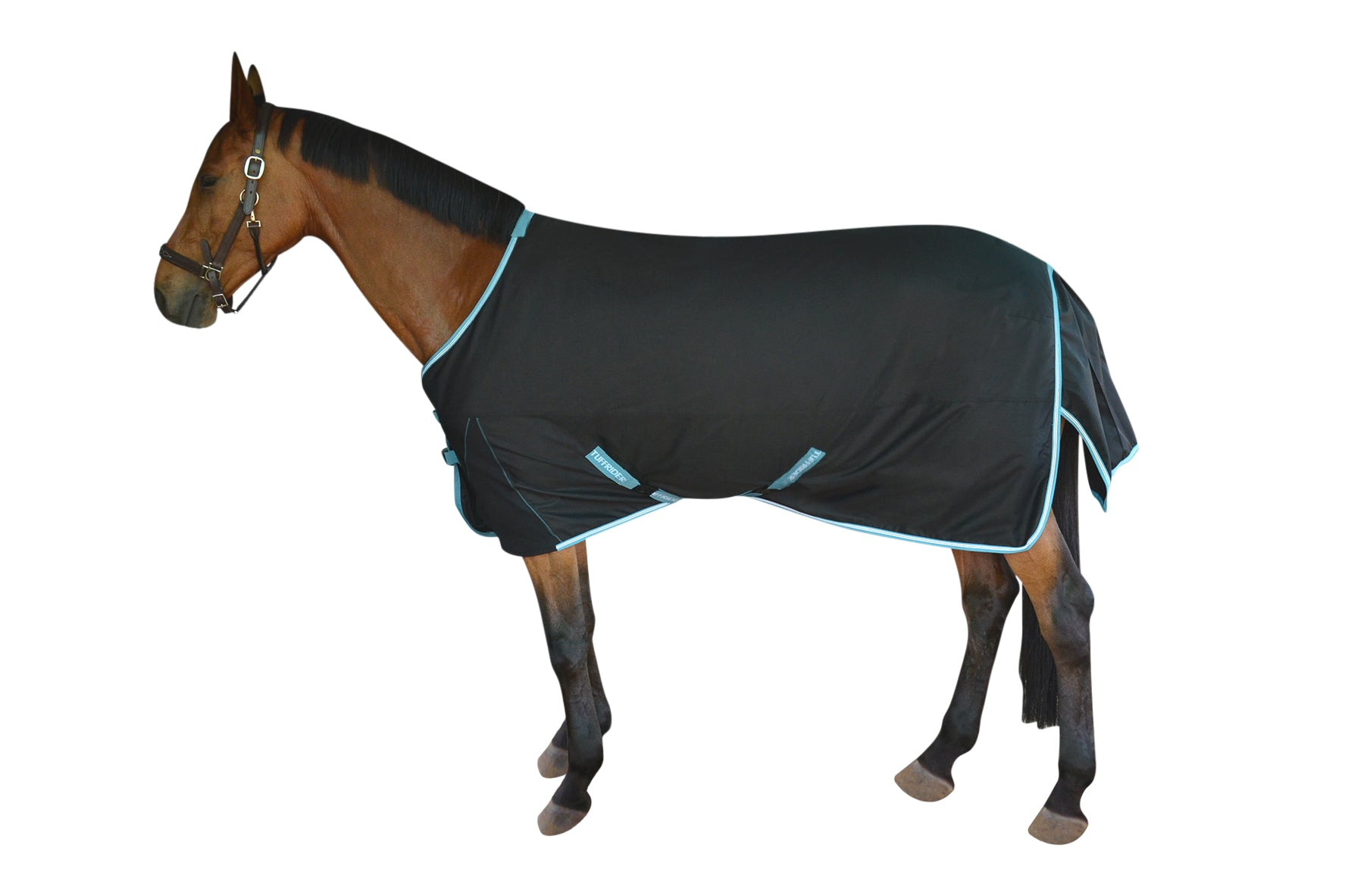 TuffRider Bonum 1200D Ripstop Turnout Sheet with Standard Neck_1
