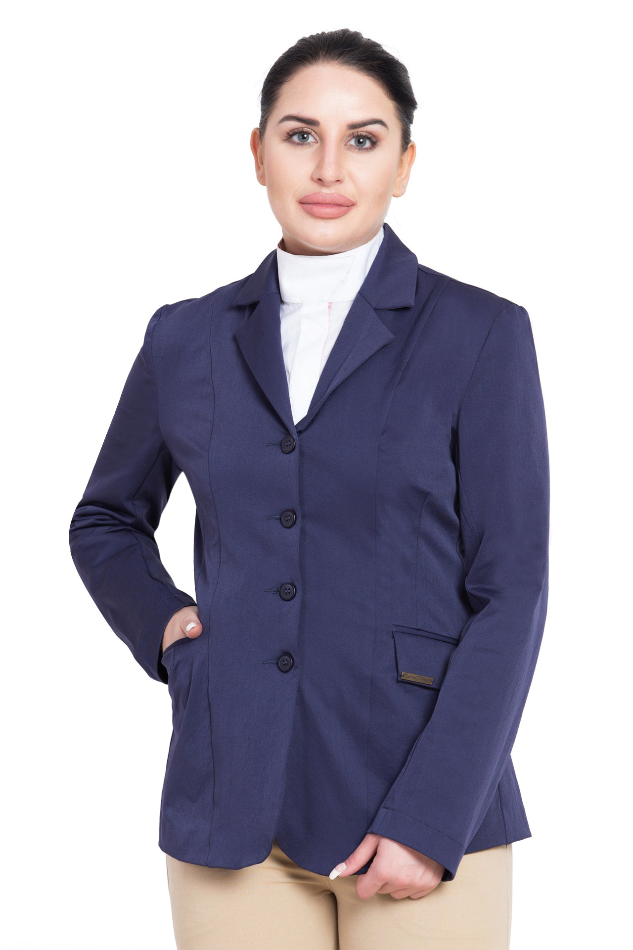 TuffRider Ladies Starter Long Show Coat_1