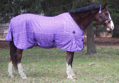 TuffRider Power MESH Fly Plaid Sheet_2979