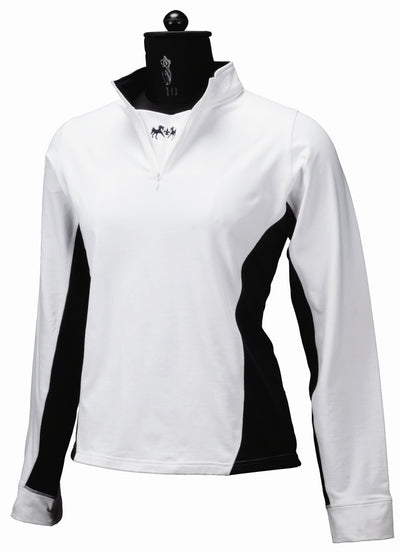 Equine Couture Ladies Sportif Technical Shirt (Long Sleeves)_719