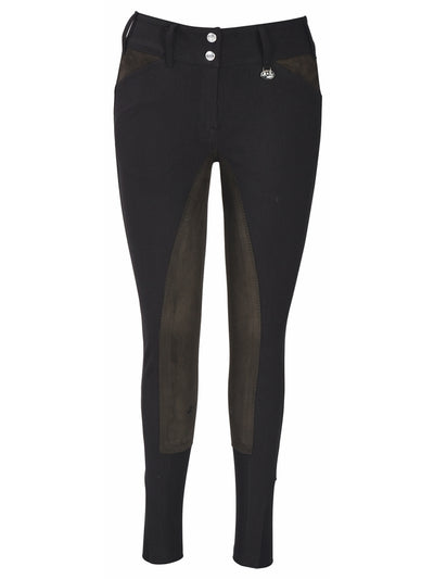 Equine Couture Ladies Sportif Full Seat Breeches with CS2 Bottom_4832