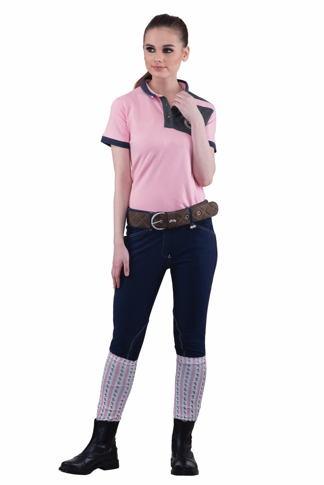 Equine Couture Ladies Sportif Natasha Knee Patch Breeches_222