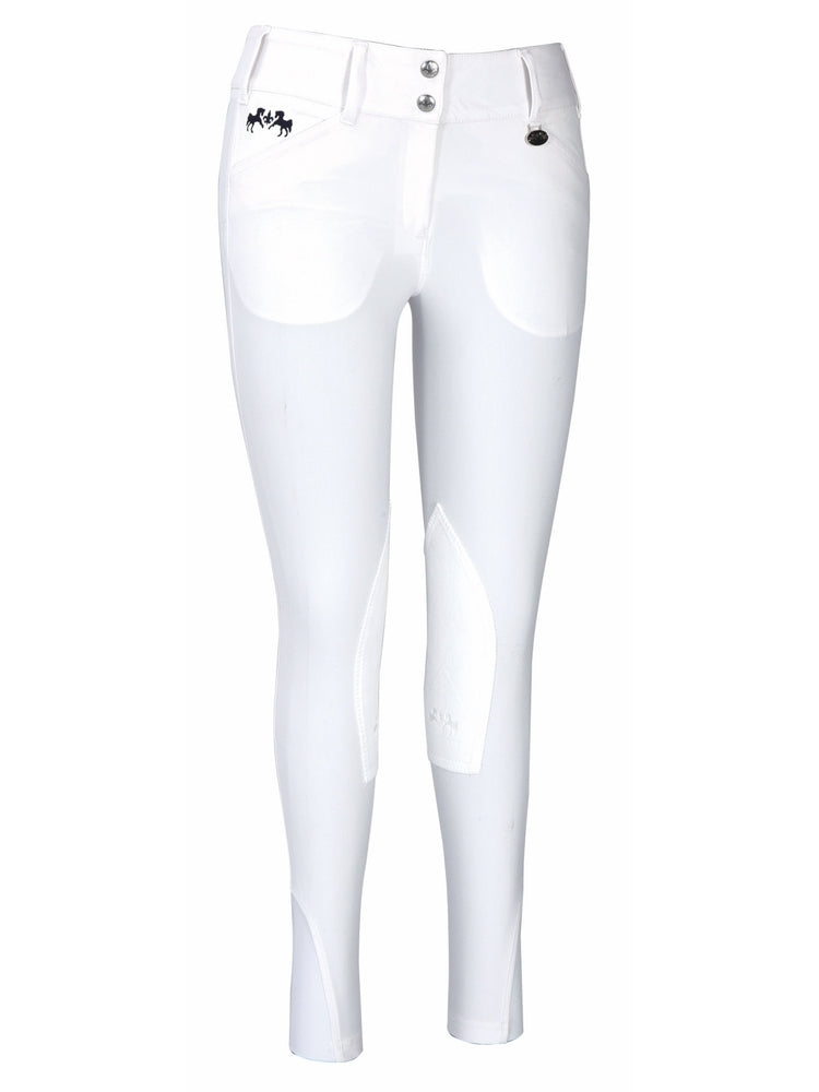 Equine Couture Ladies Regatta Knee Patch Breeches with Euroseat_1