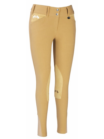 Equine Couture Ladies Regatta Knee Patch Breeches with Euroseat_4854