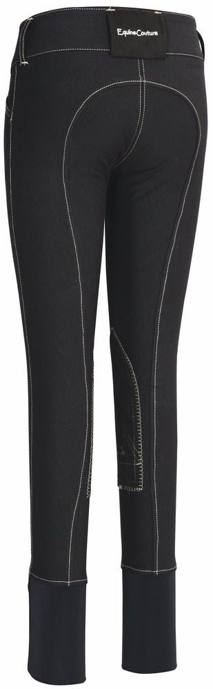Equine Couture Children's Sportif Natasha Knee Patch Breeches_921