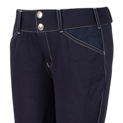 Equine Couture Children's Sportif Natasha Knee Patch Breeches_917