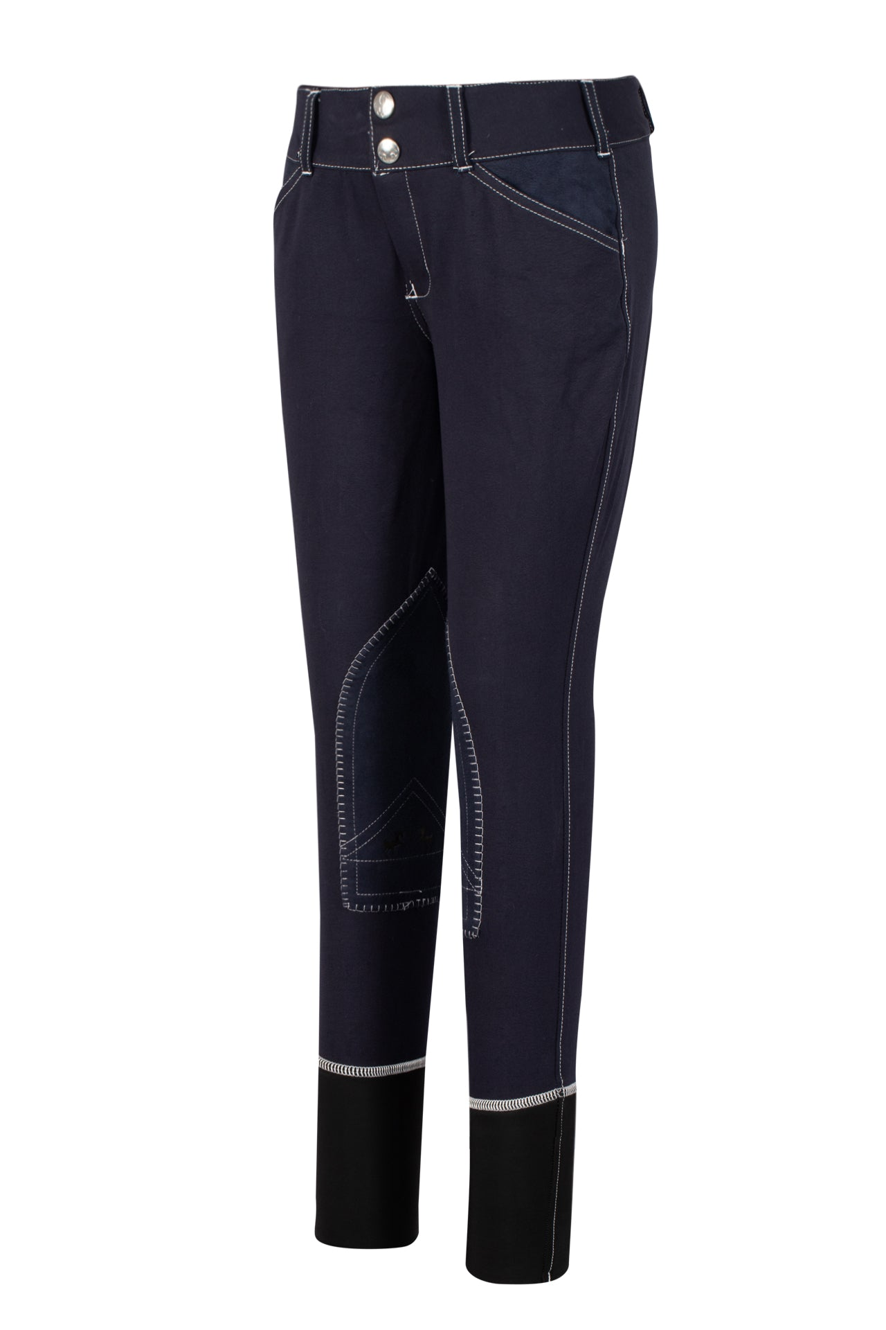 Equine Couture Children's Sportif Natasha Knee Patch Breeches_914