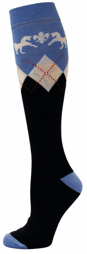 Equine Couture Ladies Hadley Knee Hi Socks_1709
