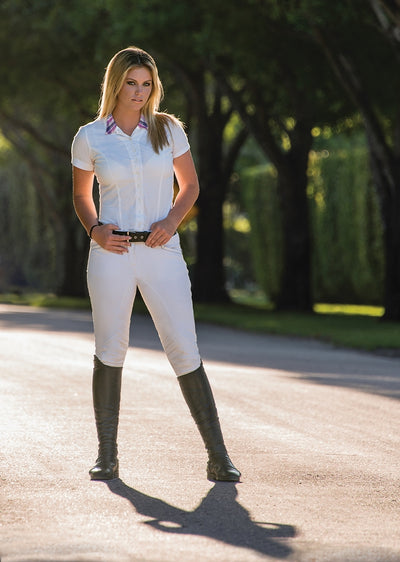 Equine Couture Ladies Ingate Knee Patch Breeches_4871
