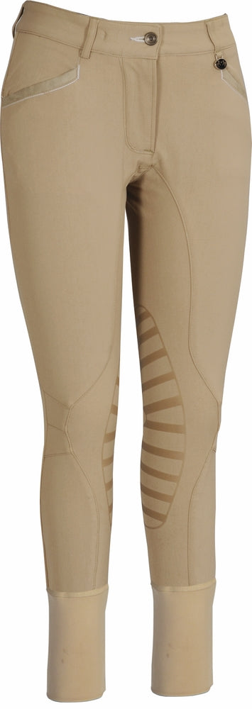 Equine Couture Ladies Ingate Knee Patch Breeches_4872