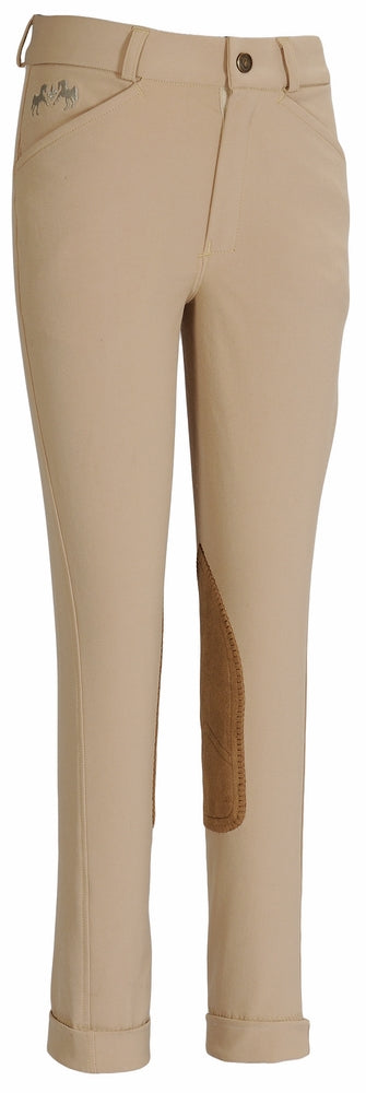 Equine Couture Children's Coolmax Champion Front Zip Jodhpurs_1029