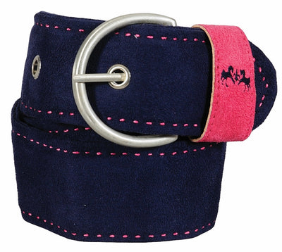 Equine Couture Dillon Ultra Suede Belt_3324