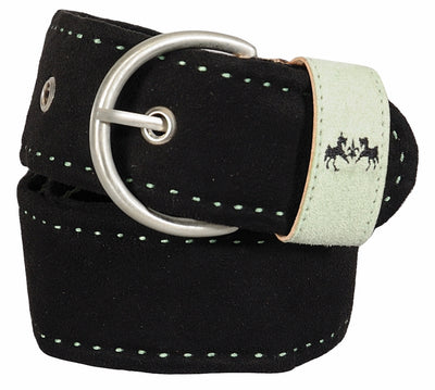 Equine Couture Dillon Ultra Suede Belt_3325