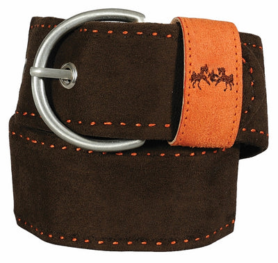 Equine Couture Dillon Ultra Suede Belt_3326