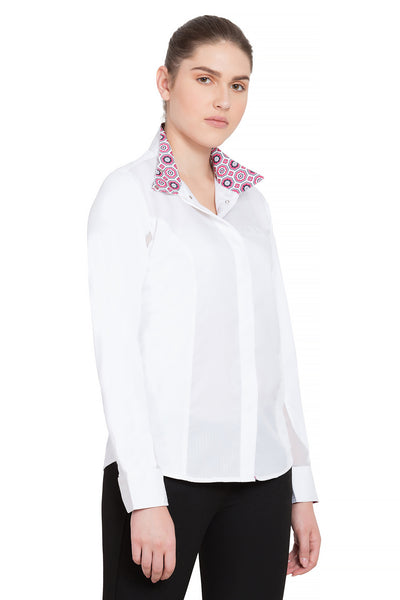 Equine Couture Ladies Kelsey Long Sleeve Show Shirt_749