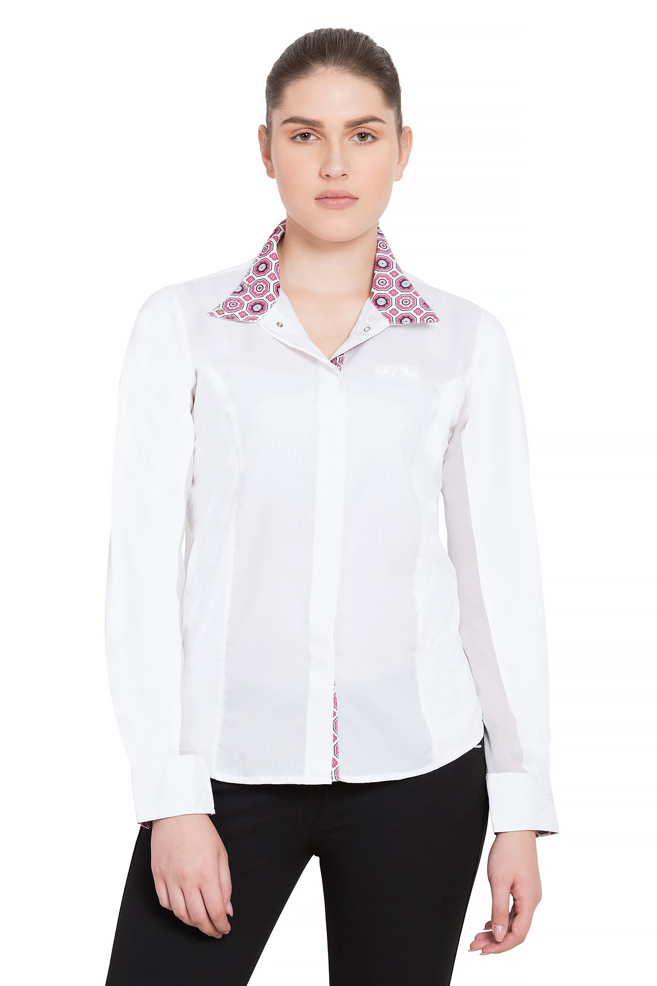 Equine Couture Ladies Kelsey Long Sleeve Show Shirt_747