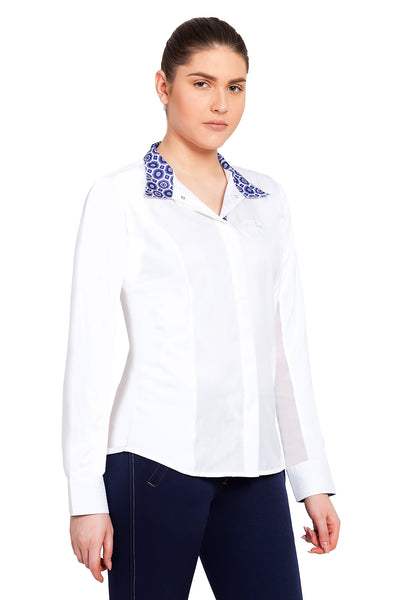 Equine Couture Ladies Kelsey Long Sleeve Show Shirt_756